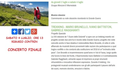 Dolomiti - Brunello 4 lug 2015