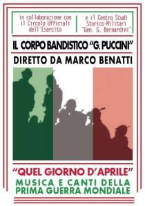 11 aprile 2014 banda Puccini
