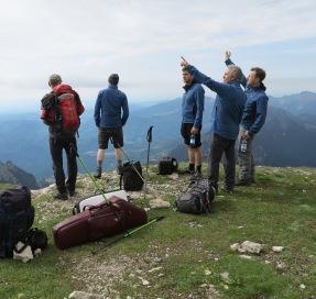Trekking sul Pasubio con Mario Brunello (luglio 2014)