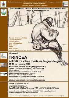 Mostra Trincea - Praticello RE 2014