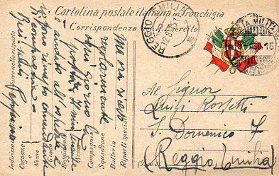 31 gennaio: Reggio e la Grande Guerra