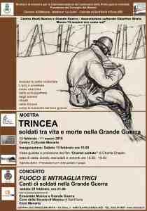 locandina mostra Trincea 2016 S. Ilario