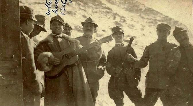 I cori scolastici cantano la Prima Guerra Mondiale